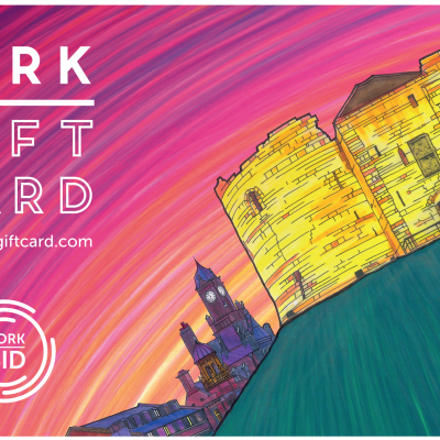 York Gift Card Clifford Tower Design