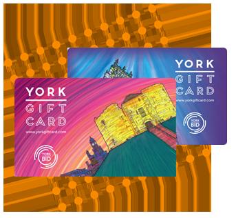 York Gift Card Designs